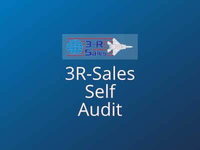 3 R Sales Self Audit
