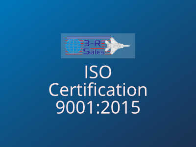 3R Sales ISO Certification 9001 2015