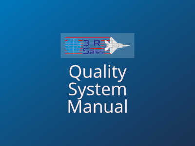 3R Sales Quality System Manual